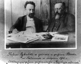 Profesor Napoleon Nikodem Cybulski iProfesor Adolf Beck