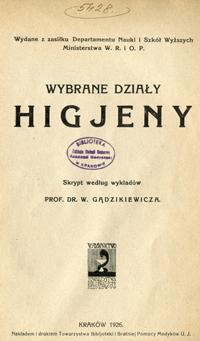 Skrypt prof.Gądzikiewicza